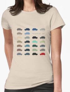 Austin Mini classic - 60's original car colours  T-Shirt