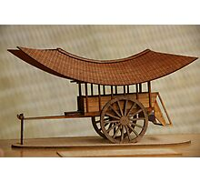 Cart, Blanche Photographic Print