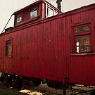 Red Caboose by Keith Stephens