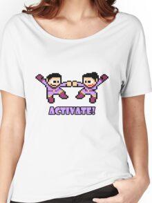 Mega Wonder Twins Women's Relaxed Fit T-Shirt