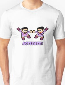 Mega Wonder Twins Unisex T-Shirt