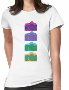 Point and Shoot  Womens Fitted T-Shirt