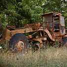 Abandoned Tractor by Keith Stephens
