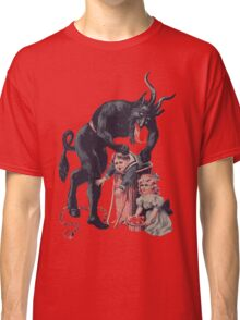 Merry Christmas from Krampus! Classic T-Shirt