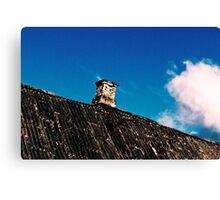 The Sky. The House. Canvas Print