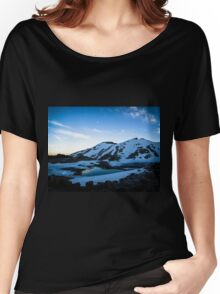 Tranquil Lake Sunset Women's Relaxed Fit T-Shirt