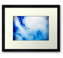 The Swallow. Framed Print