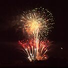 Large Firework Display in Eureka by Keith Stephens