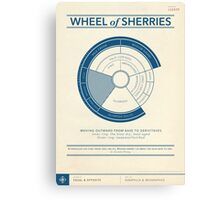 The Wheel of Sherries Canvas Print