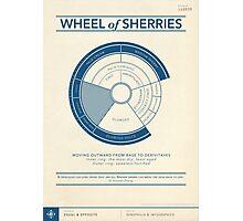 The Wheel of Sherries Photographic Print