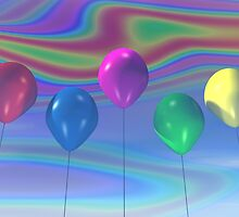 Party Balloons by mdkgraphics