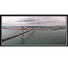 Lisbon pano Photographic Print