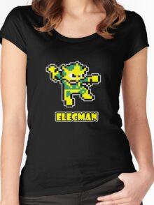 Elecman Women's Fitted Scoop T-Shirt