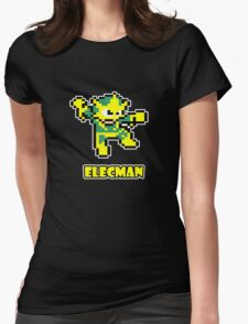 Elecman Womens Fitted T-Shirt