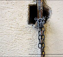 CHAIN  ON THE WALL by EstherLPolonio