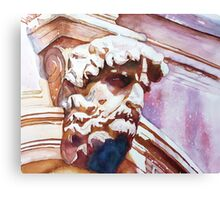 The Silent Venetian Canvas Print
