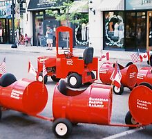 red wagon by martinAmarie