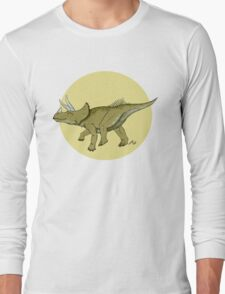 Be a happy Triceratops! Long Sleeve T-Shirt