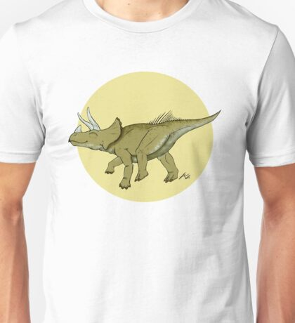 Be a happy Triceratops! Unisex T-Shirt