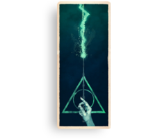The three Hallows: Lord Voldemort's avada kedavra Canvas Print