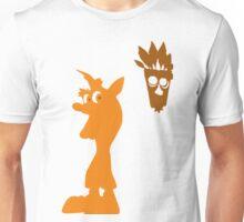 Crash & Aku Aku (Minimalist) Unisex T-Shirt