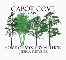 Cabot Cove Home of Jessica Fletcher by waywardtees