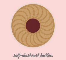 Self-Destruct Button Kids Tee