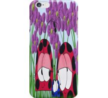 The Ladybug Family iPhone Case/Skin