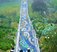 16th Ave Tiled Steps Project by Alexandra Liew