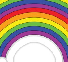 Double Rainbow: Rainbows Sticker