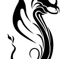 Tribal Dragon by Chris Richards