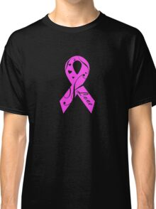 Pink Breast Cancer Ribbon With Love  Classic T-Shirt