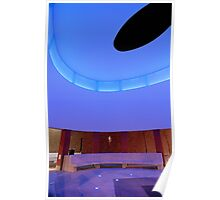 James Turrell Skyspace by UIC Poster