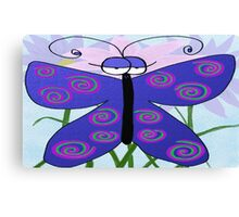 The Butterfly With An Attitude Canvas Print