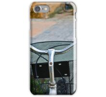BICYCLE BASKET COLORFOUL STREET iPhone Case/Skin