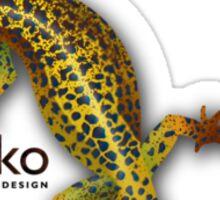 Gecko Web Design 2 Sticker