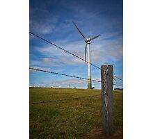 Windmill Farm Photographic Print