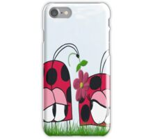 Ladybug Wooing His New Love iPhone Case/Skin