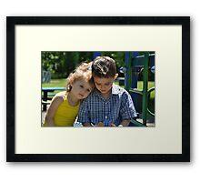 Sunshine On My Shoulder Framed Print
