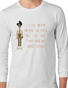 The IT Crowd – I Like Being Weird Long Sleeve T-Shirt