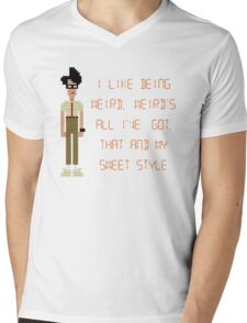 The IT Crowd – I Like Being Weird Mens V-Neck T-Shirt
