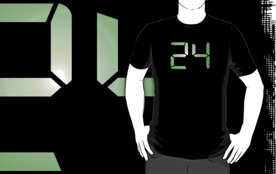 24 by waywardtees