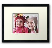 Hmmm...Not Sure About The Hat Framed Print