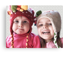 Hmmm...Not Sure About The Hat Canvas Print