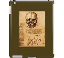 SKULL AND TEETH ,DENTAL PARCHMENT iPad Case/Skin