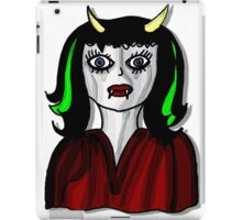 Vampire Lady iPad Case/Skin