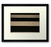 Ebony & Ivory Framed Print