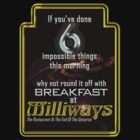 Milliways 6 things by chewietoo
