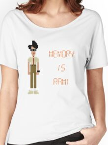 The IT Crowd – Memory IS RAM! Women's Relaxed Fit T-Shirt