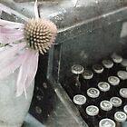 vintage typewriter by Lynn McCann